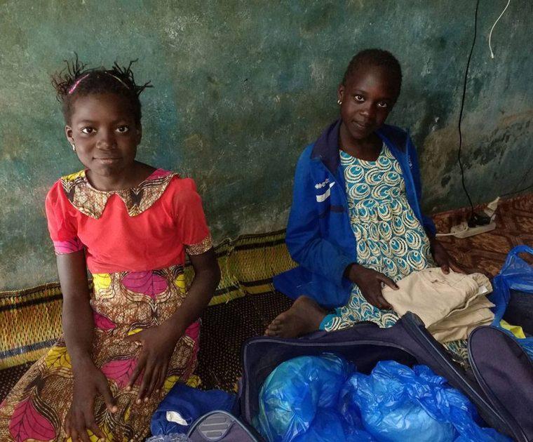 Fatou und Dial (von links)